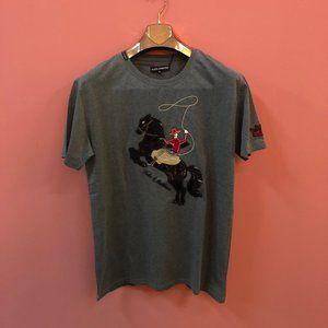 """Dolce Gabbana Men Gray T-Shirt """"50 / L"""""""